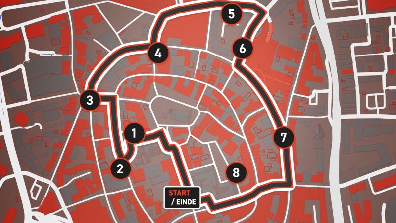 20210504 4 en 5 mei historische stadswandeling routekaart