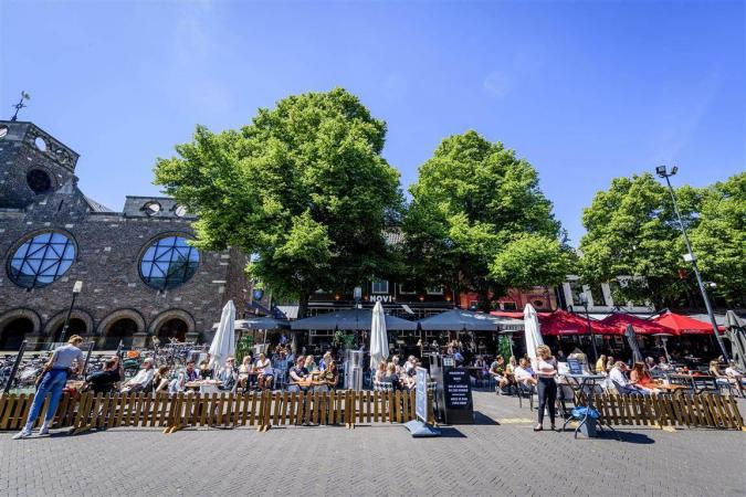 Oude Markt Enschede Coronatijd