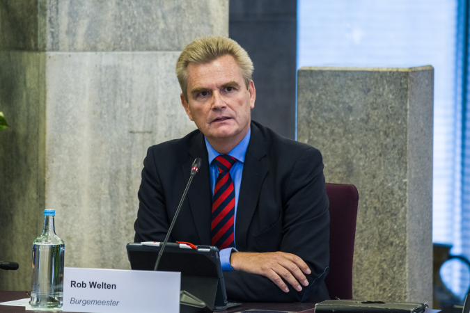 Rob Welten Door Reinier van Willigen