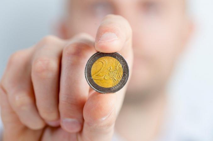Arm munt geld pixabay