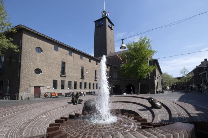 Stadhuis Enschede Frans Nikkels
