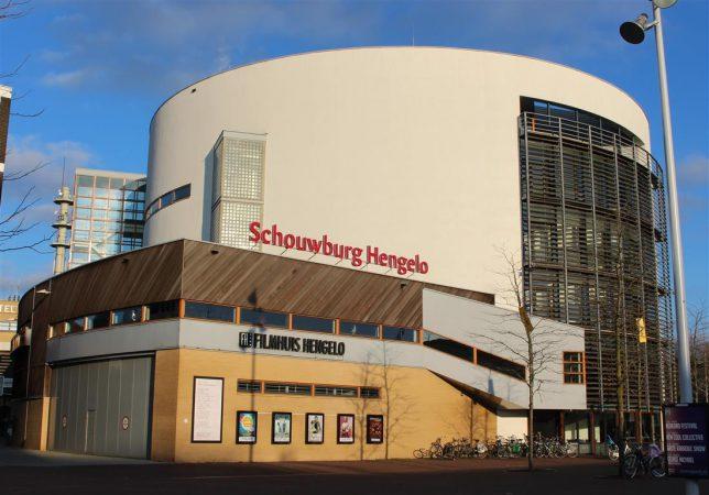 446666 Schouwburg Hengelo stationsplein
