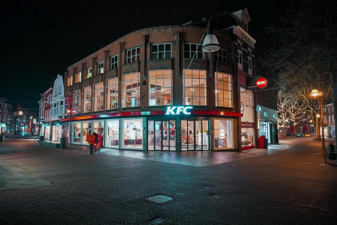 KFC avondklok Coen Krukkert