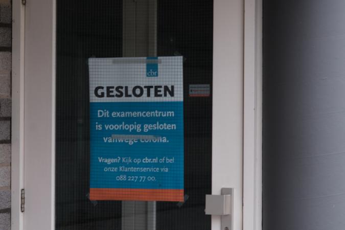 CBR gesloten Ernst Bergboer