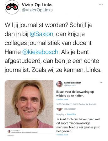 Kiekebosch Vizier op links print screen