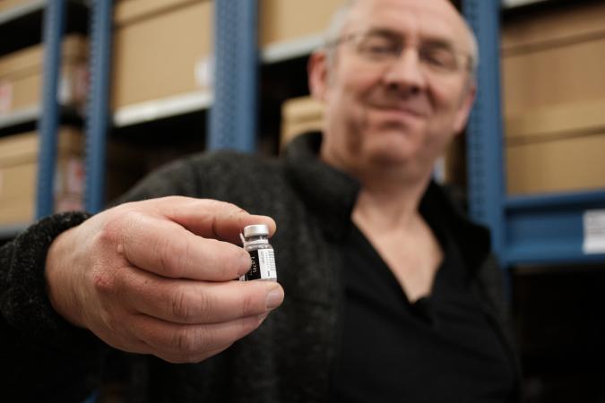 Edwin Plokker vaccin Ernst Bergboer