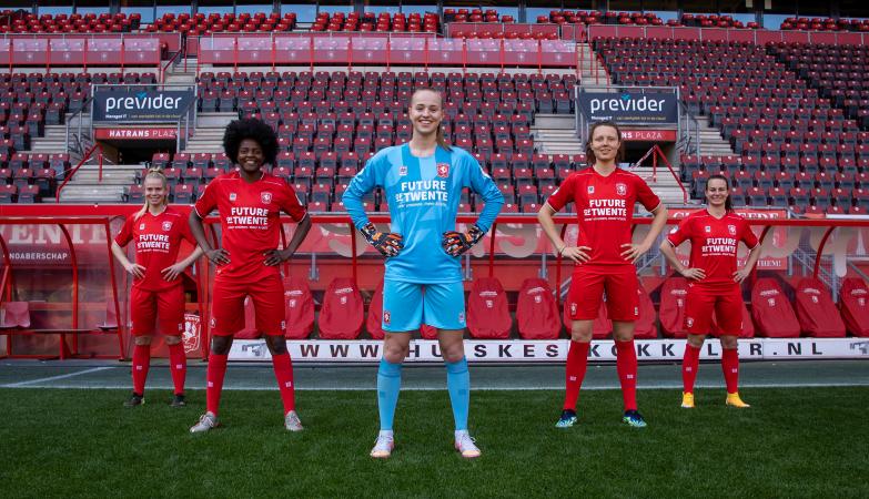 FC Twente Vrouwen bron FC Twente media