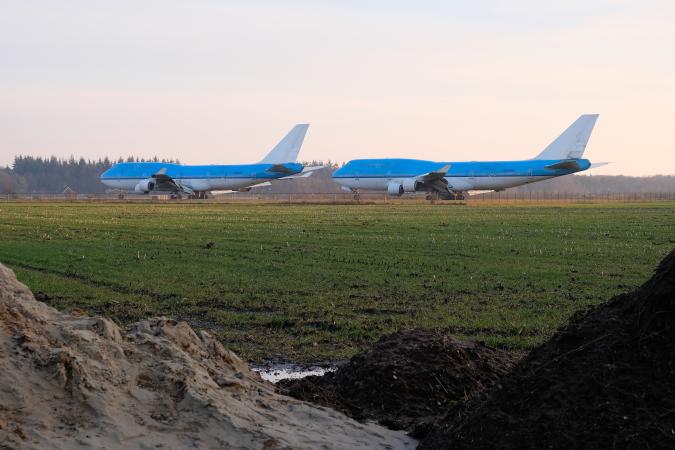 Boeings op Airport Twente 2 Ernst Bergboer