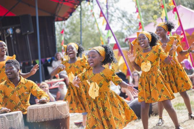 Afrika festival wieffer romy
