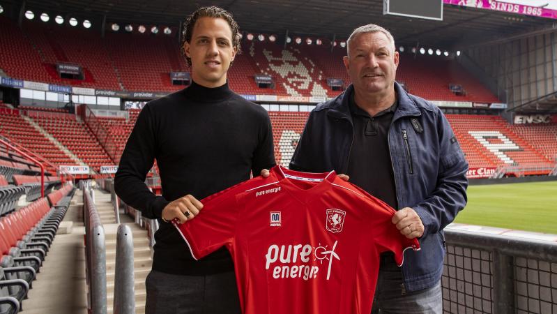 Giovanni Troupee en Jans FC Twente