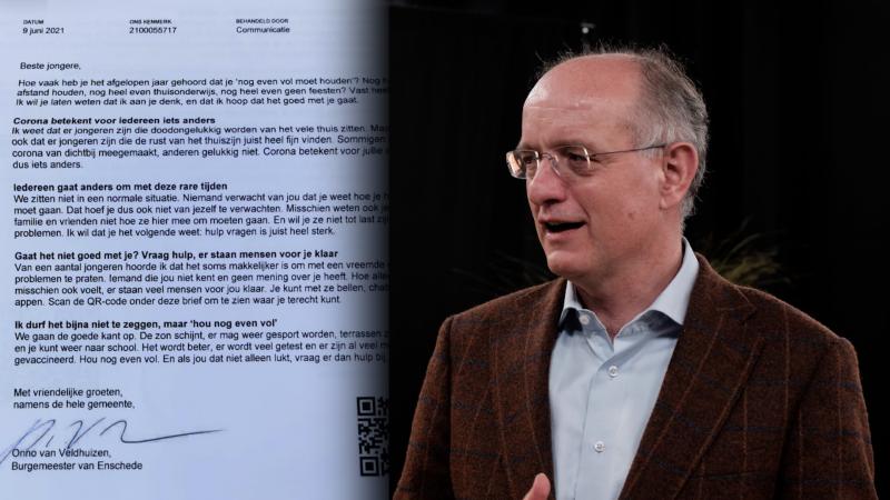 Brief Onno van Veldhuizen