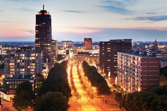 Enschede skyline flickr