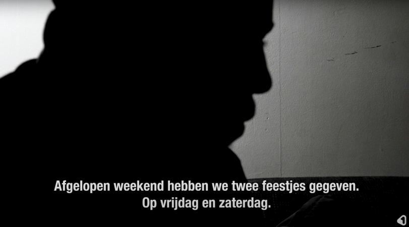 Illegale feestjes 1 Twente schermprint