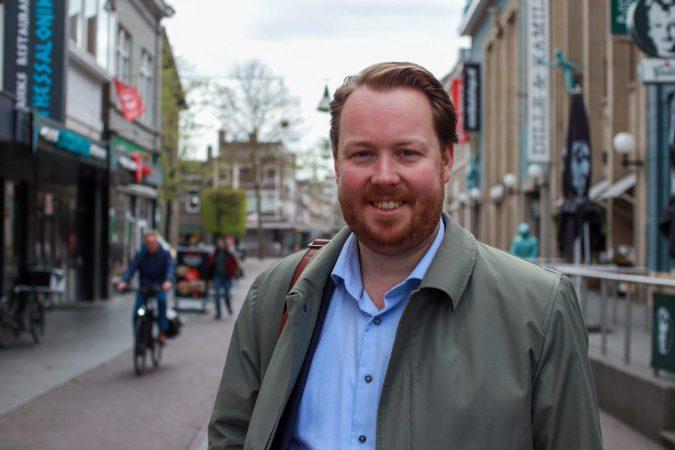 Jeroen Diepemaat VVD gemeente Enschede