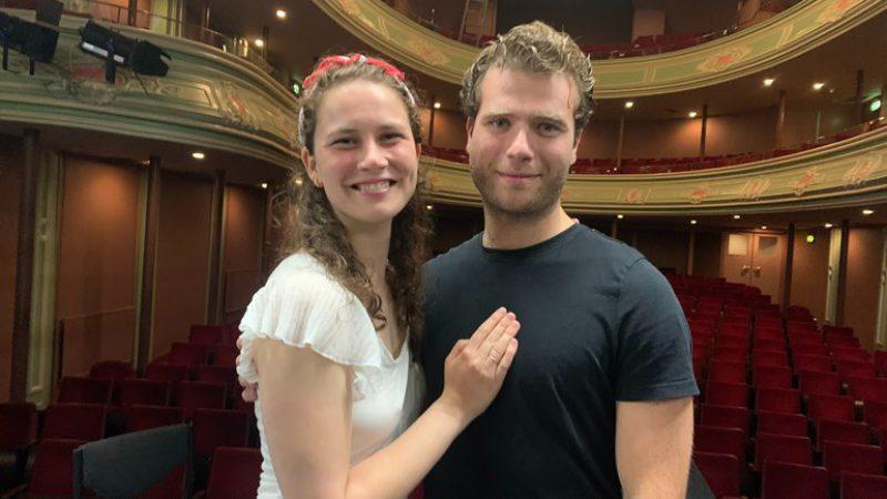 Liefdeskoppel Yvonne en Stefano Foto RTV Oost Jolande Verheij