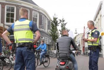 Scooters binnenstad still