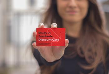 Study in Enschede discount card Foto Enschede Promotie