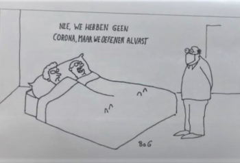 Corona humor helpt