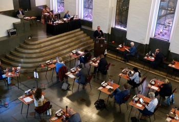 De gemeenteraad vergaderde in de Burgerzaal