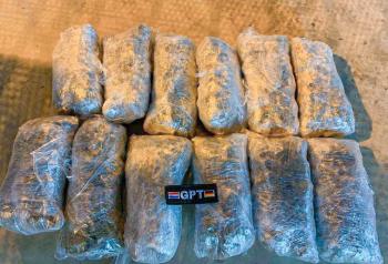 3,1 kilo gevonden drugs