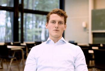 UT student Daniel De Vries