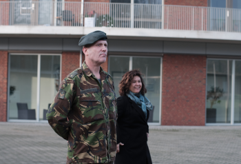 Militairen bij Liberein Ernst Bergboer