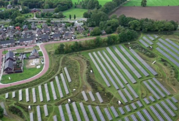 Solarpark kwekerij