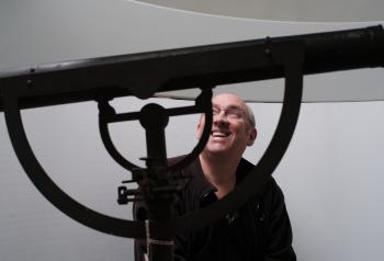 Ewin Plokker telescoop Ernst Bergboer