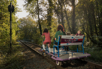 Spoorfietsen rail pleasure