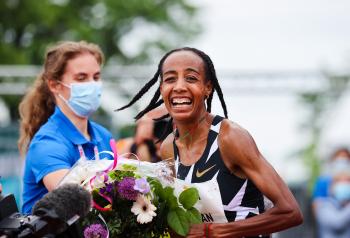 Sifan hassan fbk games 2021 wereldrecord 10 km