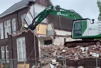 Sloop oude jongensschool willemdeclergstraat hengelo
