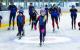 Pupillen ijs schaatsen hijc