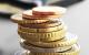 442946 Euro Munzgeld und Portmonee Nahaufnahme Geld Kleingeld Munzen